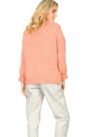 Knit-ted | Gebreid vest Bernelle | roze  | Afbeelding 6