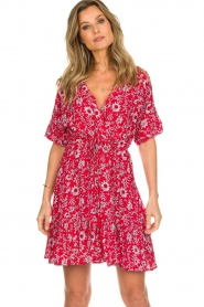 BEACHGOLD |  Dress Betty | red  | Picture 2