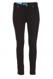 7 For All Mankind |  High waist stretch jeans Adeline | black  | Picture 1