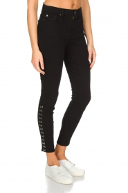 7 For All Mankind |  High waist stretch jeans Adeline | black  | Picture 3