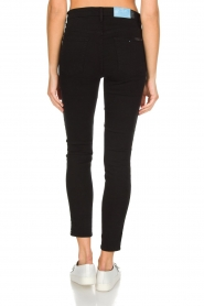 7 For All Mankind |  High waist stretch jeans Adeline | black  | Picture 5