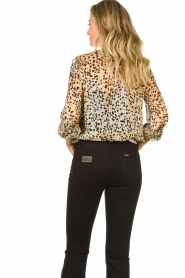 Set |  Animal print blouse Annora | brown  | Picture 7