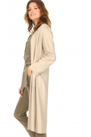 Knit-ted |  Long cardigan Liv | beige  | Picture 5