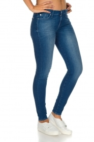 7 For All Mankind | Skinny jeans Pacific | Blauw  | Afbeelding 4