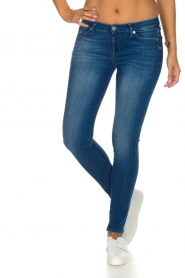 7 For All Mankind | Skinny jeans Pacific | Blauw  | Afbeelding 2