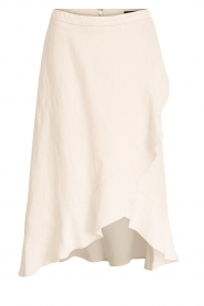 Set |  Wrap skirt Avery | white  | Picture 1