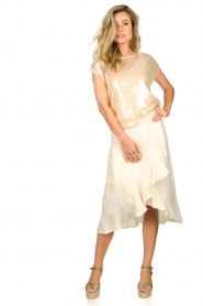 Set |  Wrap skirt Avery | white  | Picture 3