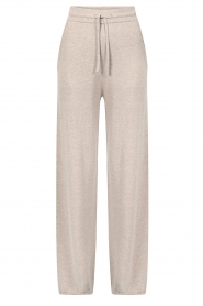 Knit-ted |  Knitted pants Noor | beige  | Picture 1