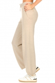 Knit-ted |  Knitted pants Noor | beige  | Picture 5
