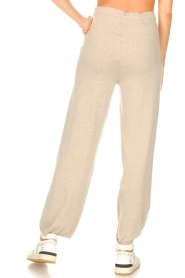 Knit-ted |  Knitted pants Noor | beige  | Picture 6