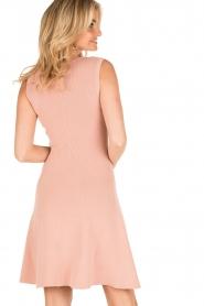NIKKIE | V-hals jurk Ventura | roze  | Afbeelding 5