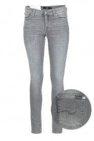 7 For All Mankind |  Super skinny stretch jeans Amelia | grey  | Picture 1