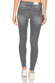7 For All Mankind |  Super skinny stretch jeans Amelia | grey  | Picture 5