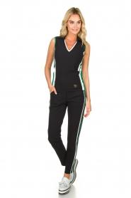 Par 69 |  Golf trousers with sporty stripes Bucci | blue  | Picture 3