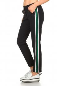 Par 69 |  Golf trousers with sporty stripes Bucci | blue  | Picture 4