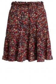 Set |  Floral skirt Ayesha | red  | Picture 1
