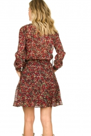 Set |  Floral skirt Ayesha | red  | Picture 6