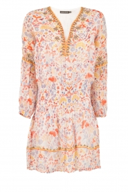 Antik Batik | Mini jurk Samsa | roze  | Afbeelding 1
