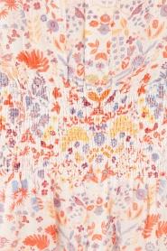 Antik Batik | Mini jurk Samsa | roze  | Afbeelding 6