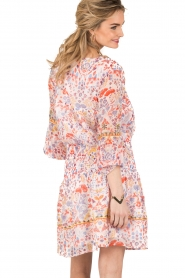 Antik Batik | Mini jurk Samsa | roze  | Afbeelding 5