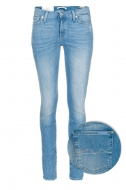7 For All Mankind | Super skinny stretch jeans Amelia | blauw  | Afbeelding 1