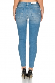 7 For All Mankind | Super skinny stretch jeans Amelia | blauw  | Afbeelding 5