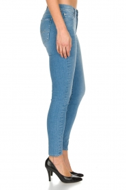 7 For All Mankind | Super skinny stretch jeans Amelia | blauw  | Afbeelding 4