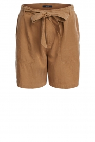 Set |  Shorts with bow detail Arisa | camel  | Picture 1