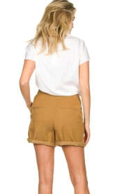 Set |  Shorts with bow detail Arisa | camel  | Picture 7