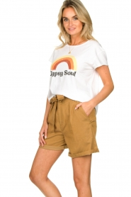 Set    Shorts with bow detail Arisa   camel    Picture 6