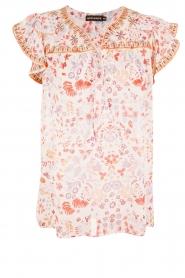 Antik Batik | Top Samsa | roze  | Afbeelding 1