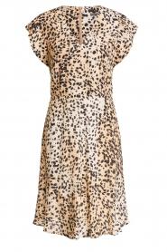 Set |  Animal print dress Anouk | brown  | Picture 1