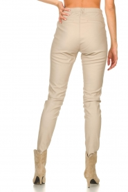 Knit-ted |  Faux leather leggings Amber | natural  | Picture 6