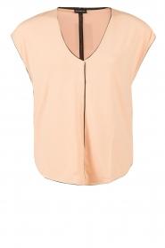 By Malene Birger | T-shirt Jacquett | roze   | Afbeelding 1