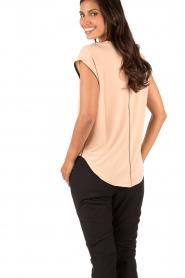By Malene Birger | T-shirt Jacquett | roze   | Afbeelding 5