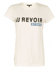 NIKKIE | T-shirt Au Revoir Bitches | wit  | Afbeelding 1