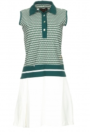 Par 69 |  Golf dress with Escher print Beaudille | green  | Picture 1