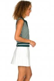 Par 69 |  Golf dress with Escher print Beaudille | green  | Picture 4