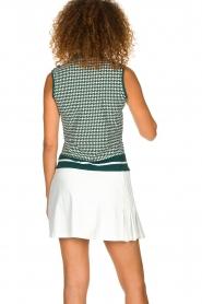 Par 69 |  Golf dress with Escher print Beaudille | green  | Picture 5