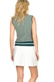 Par 69 |  Golf dress with Escher print Beaudille | green  | Picture 5