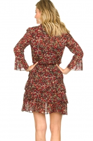 Set :  Floral dress Annyck | red - img7