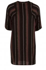 Antik Batik | Jurk Ael | zwart  | Afbeelding 1