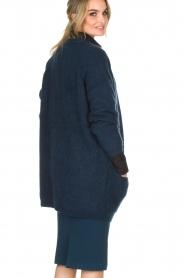 By Malene Birger | Wollen vest Belinta | blauw  | Afbeelding 5