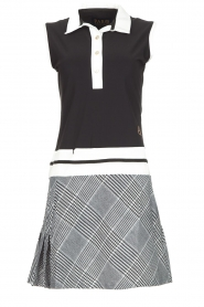 Par 69 |  Golf dress with checkered skirt Beaudille | print  | Picture 1