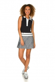 Par 69 |  Golf dress with checkered skirt Beaudille | print  | Picture 3