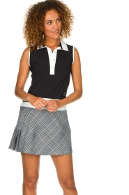Par 69 |  Golf dress with checkered skirt Beaudille | print  | Picture 2