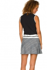 Par 69 |  Golf dress with checkered skirt Beaudille | print  | Picture 5