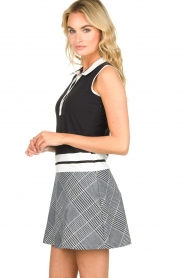 Par 69 |  Golf dress with checkered skirt Beaudille | print  | Picture 4