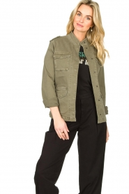 Set |  Military jacket Aivy | green  | Picture 2
