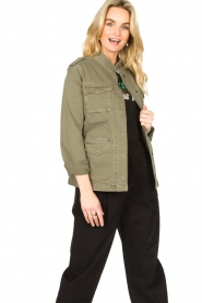 Set |  Military jacket Aivy | green  | Picture 4